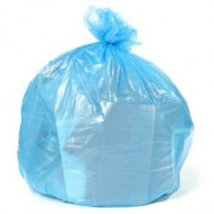 Trash Nanny Blue Recycling Bags